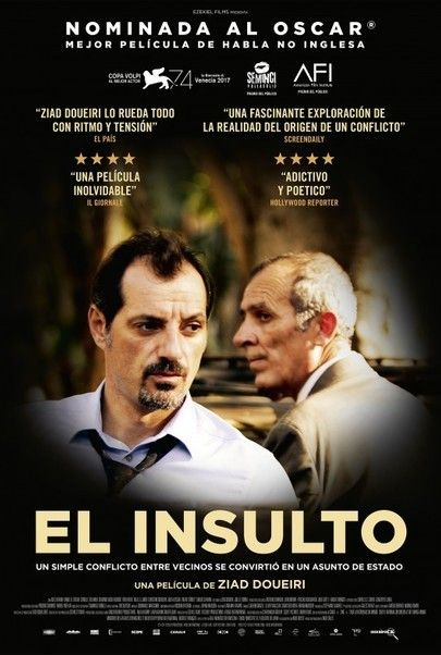 "Movie poster for ""The Insult"""