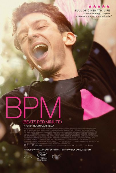 """Movie poster for """"BPM (Beats per Minute)"""""""