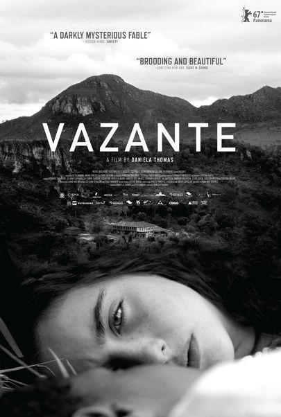 "Movie poster for ""VAZANTE"""