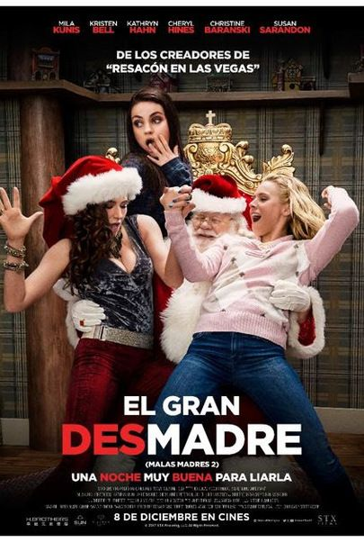 A Bad Moms Christmas Movie Poster.Eclairplay Spain Movie A Bad Moms Christmas