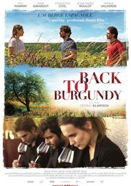 "Movie poster for ""BACK TO BURGUNDY"""
