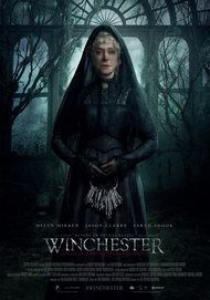 """Movie poster for """"WINCHESTER: THE HOUSE THAT GHOSTS BUILT"""""""