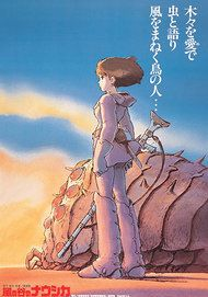 "Movie poster for ""NAUSICAÄ OF THE VALLEY OF THE WIND"""