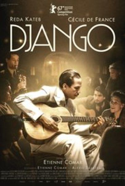 "Movie poster for ""DJANGO"""