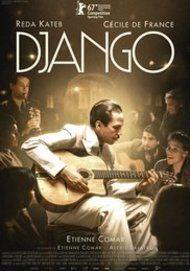 "Movie poster for ""DJANGO"""