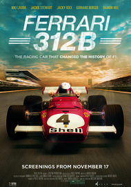 "Movie poster for ""FERRARI 312B: Where the revolution begins"""