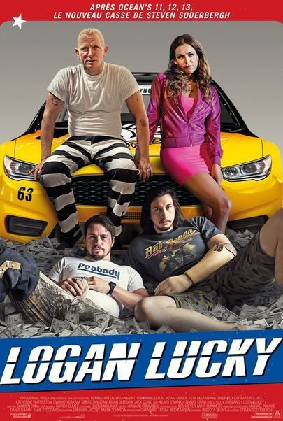 eclairplay france movie logan lucky. Black Bedroom Furniture Sets. Home Design Ideas