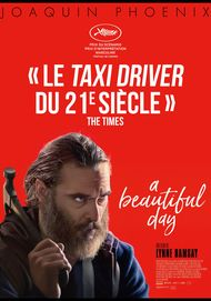 "Movie poster for ""YOU WERE NEVER REALLY HERE"""