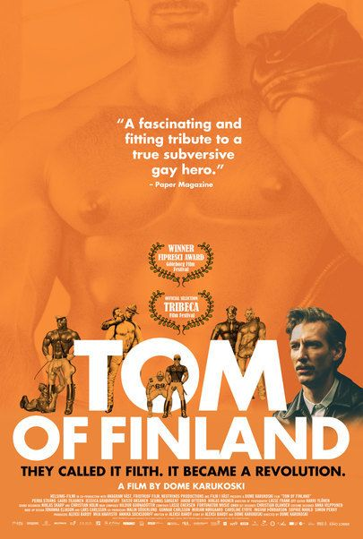 """Movie poster for """"TOM OF FINLAND"""""""
