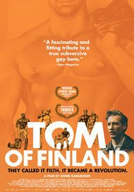 "Movie poster for ""TOM OF FINLAND"""