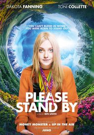 "Movie poster for ""PLEASE STAND BY"""