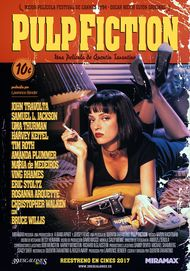 """Movie poster for """"Pulp Fiction"""""""