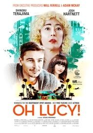 "Movie poster for ""OH LUCY!"""