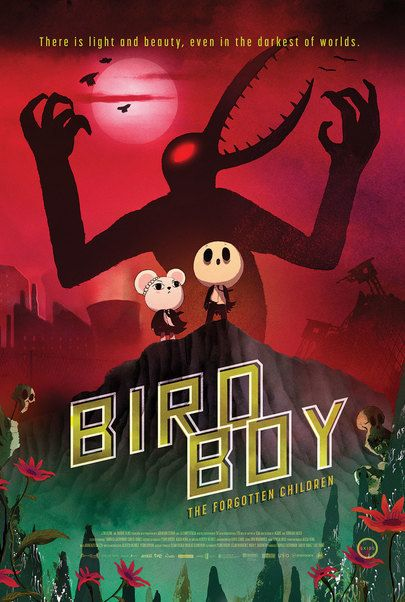 "Movie poster for ""BIRDBOY: THE FORGOTTEN CHILDREN"""