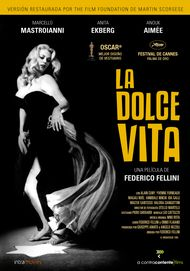 "Movie poster for ""La Dolce Vita"""