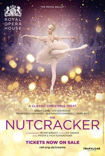 "Movie poster for ""THE NUTCRACKER - Royal Opera House 2017-18"""