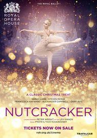 "Movie poster for ""THE NUTCRACKER - Royal Opera House 2017-18"""
