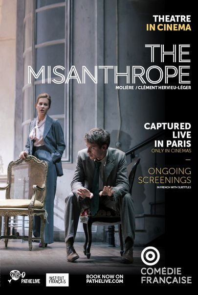 "Movie poster for ""LE MISANTHROPE - Comedie Francaise"""