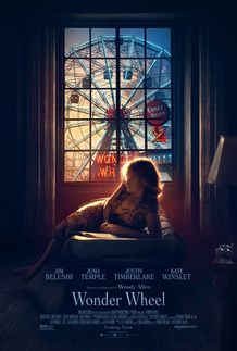 "Movie poster for ""WONDER WHEEL"""