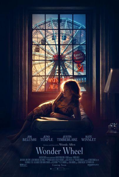 "Movie poster for ""WONDER WHEEL"""