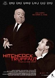 "Movie poster for ""Hitchcock/Truffaut"""