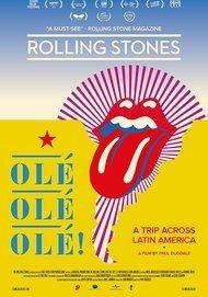 """Movie poster for """"ROLLING STONES OLÉ, OLÉ, OLÉ: A TRIP ACROSS LATIN AMERICA"""""""