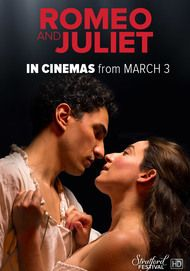 "Movie poster for ""ROMEO & JULIET - Stratford Festival 2017-18"""