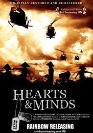"Movie poster for ""HEARTS AND MINDS (HD Restoration)"""