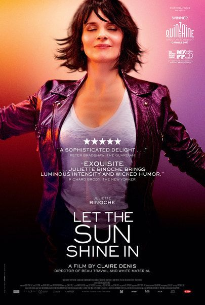 "Movie poster for ""LET THE SUNSHINE IN"""