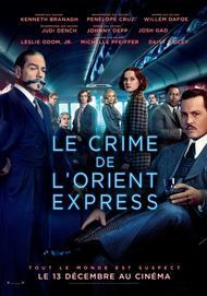 "Movie poster for ""MURDER ON THE ORIENT EXPRESS"""