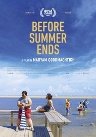 "Movie poster for ""BEFORE SUMMER ENDS"""