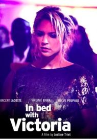 "Movie poster for ""IN BED WITH VICTORIA"""