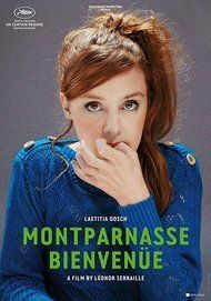 "Movie poster for ""MONTPARNASSE BIENVENUE"""