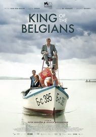 "Movie poster for ""KING OF THE BELGIANS"""