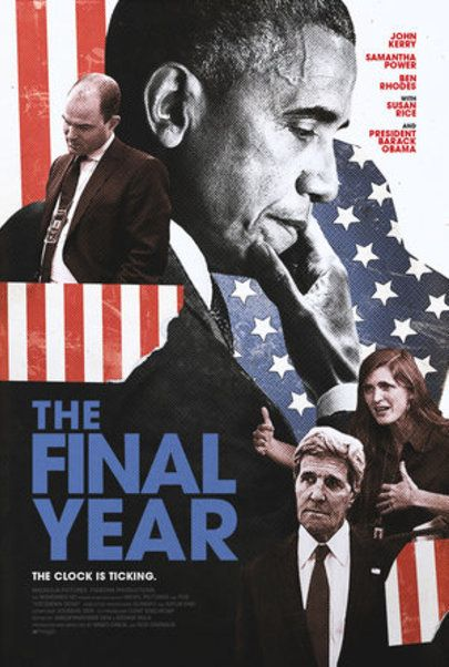 "Movie poster for "" THE FINAL YEAR"""