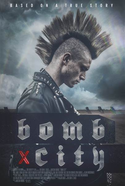 "Movie poster for ""BOMB CITY"""