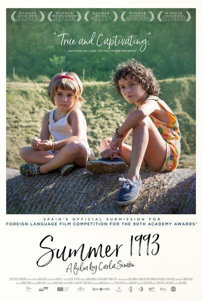 "Movie poster for ""SUMMER 1993"""