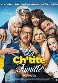 """Movie poster for """"LA CH'TITE FAMILLE"""""""
