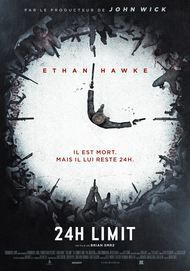"Movie poster for ""24 HOURS TO LIVE """