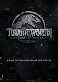 "Movie poster for ""JURASSIC WORLD: FALLEN KINGDOM"""