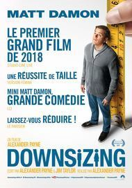 """Movie poster for """"DOWNSIZING"""""""