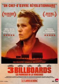 "Movie poster for ""THREE BILLBOARDS OUTSIDE EBBING, MISSOURI"""