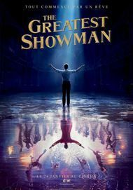 "Movie poster for ""THE GREATEST SHOWMAN"""