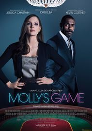 """Póster para """"Molly's Game"""""""