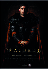 "Movie poster for ""MACBETH"""