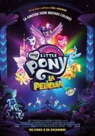 "Movie poster for ""My Little Pony: The Movie"""