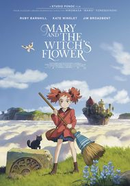 "Movie poster for ""MARY AND THE WITCH'S FLOWER"""