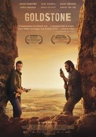 "Movie poster for ""GOLDSTONE"""