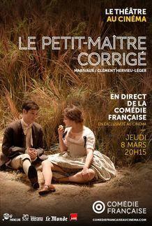 """Movie poster for """"LE PETIT MAITRE CORRIGE (COMEDIE FRANCAISE / PATHE LIVE)"""""""