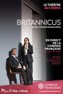"Movie poster for ""BRITANNICUS (COMEDIE FRANCAISE / PATHE LIVE)"""
